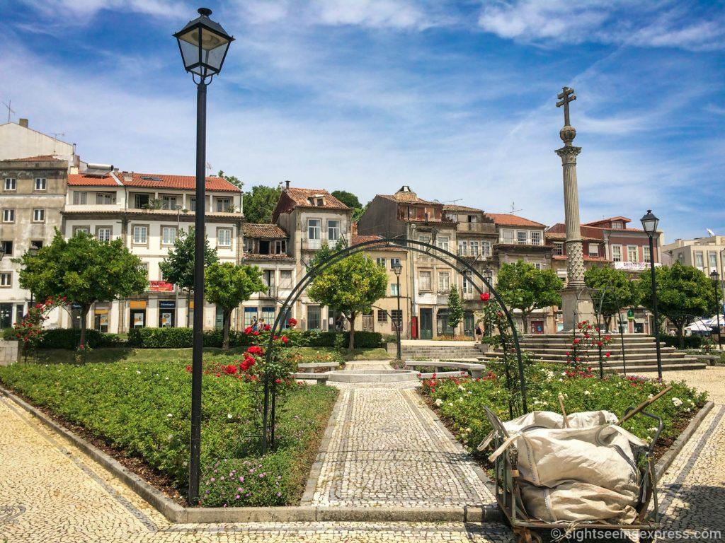 Jardim da Senhora A Branca, Braga, Portugal