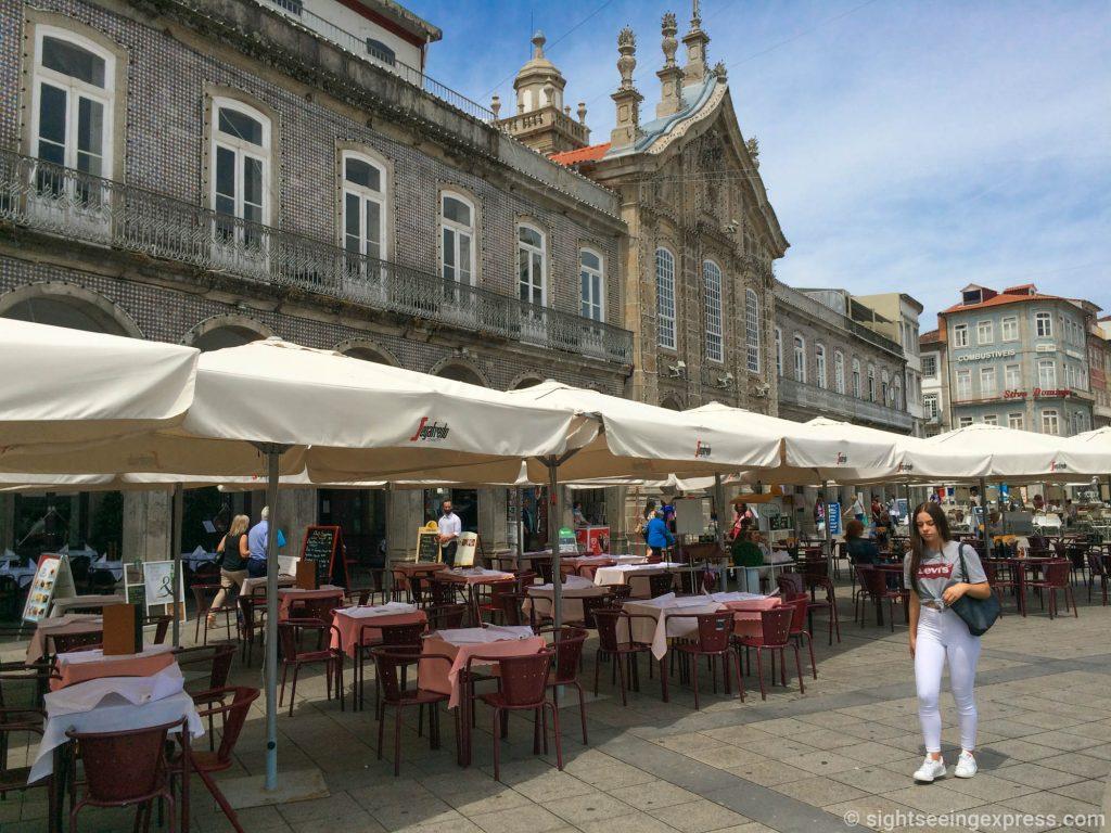 Center of Braga city, Portugal
