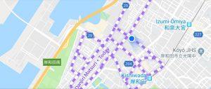 Danjiri Matsuri on Google Maps
