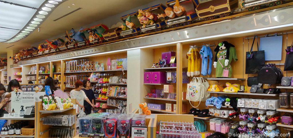 Inside Disney store at Shinsaibashi, Osaka