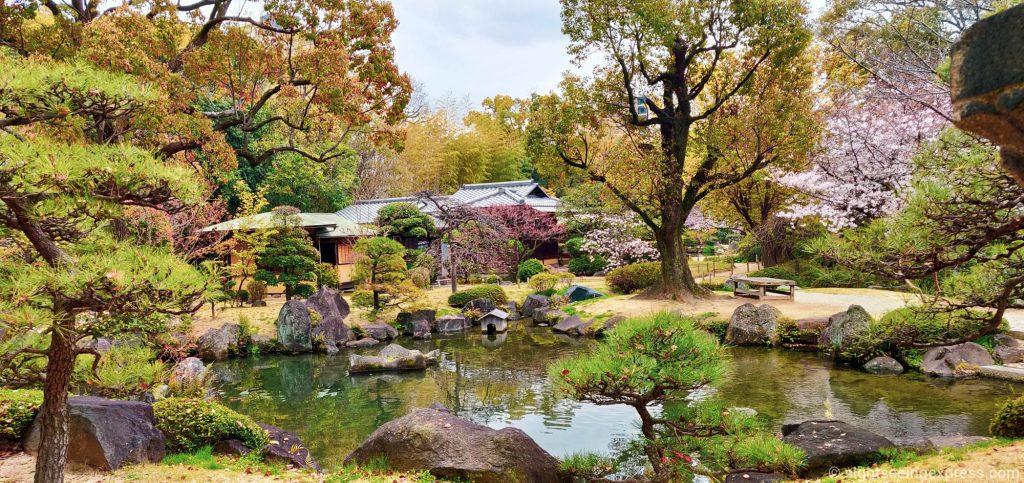 Gokuraku-jodo Japanese garden
