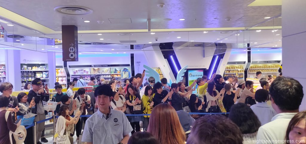 grand opening of the Pokemon Center OSAKA DX