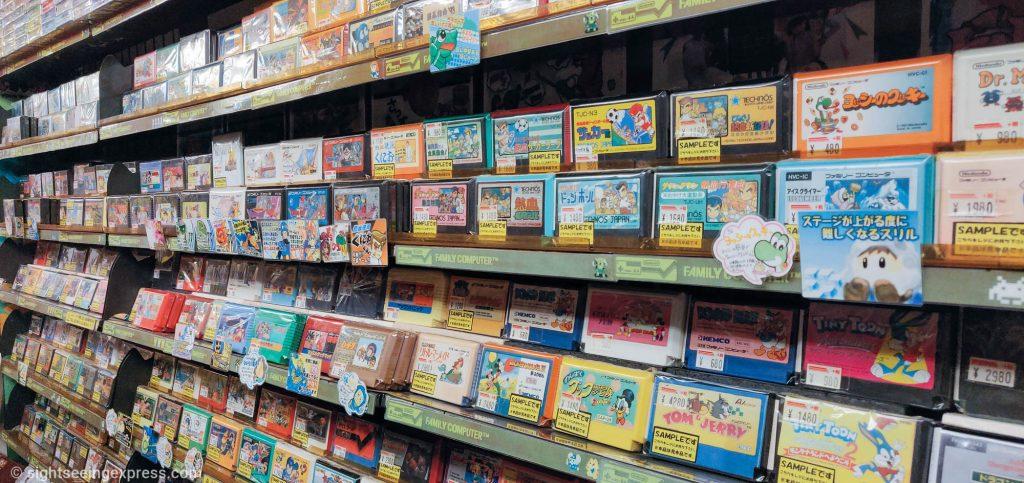 Nintendo retro game cartridges for Family Computer