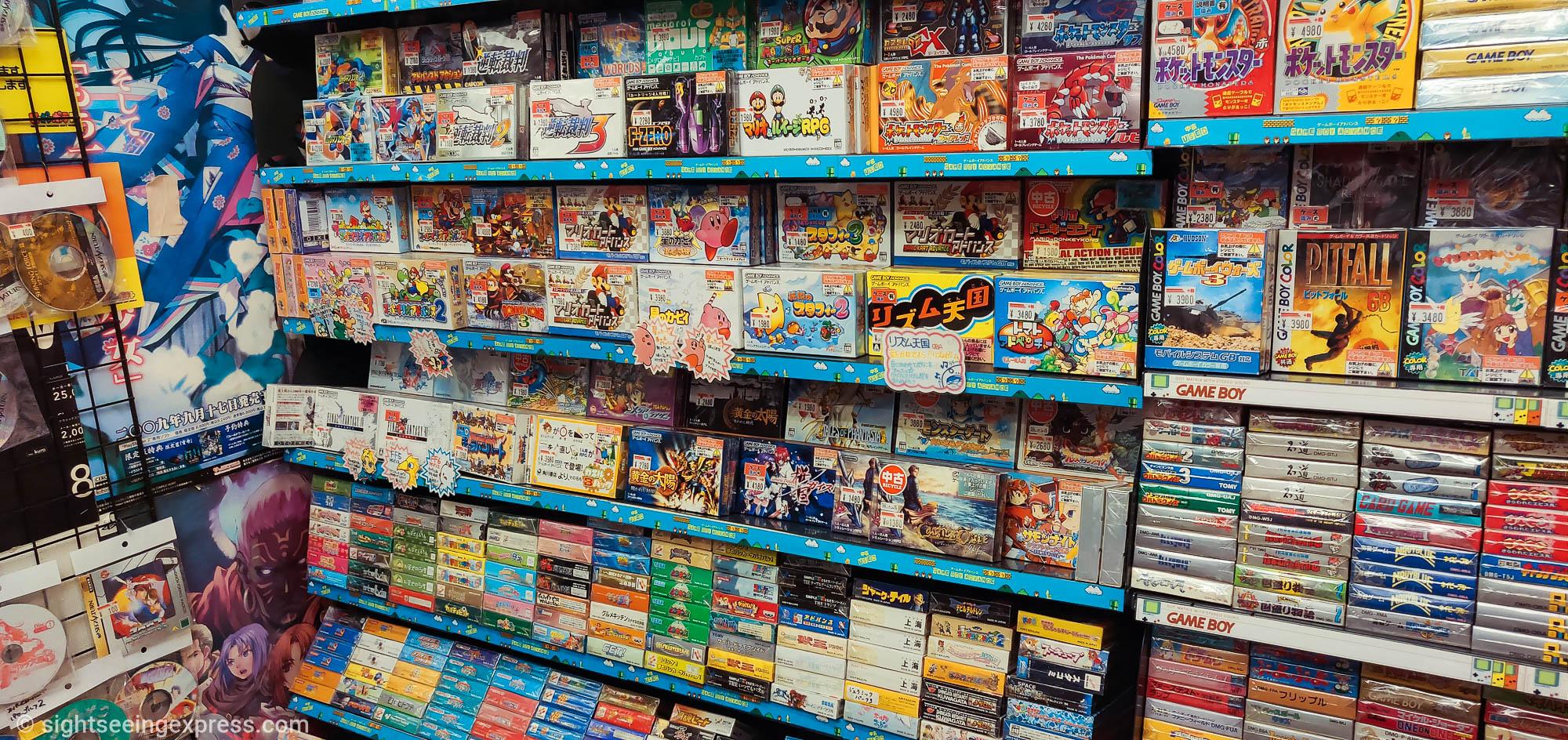 Super Potato Namba Osaka Retro Game Store
