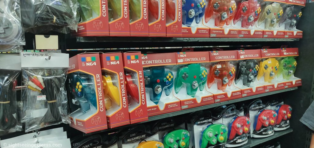 N64 colorful controllers
