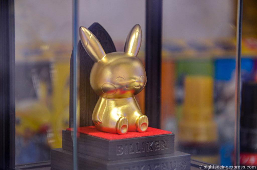 Billiken K24 gold Pikachu figure